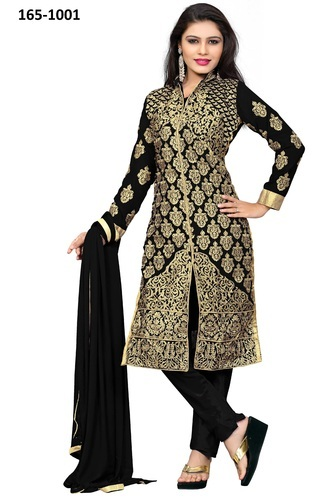 37dda53a5b Fancy Embroidery Punjabi Suits, Punjabi Ladies Suit, Punjabi ...