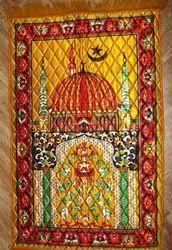 Rectangular Handmade Promotional Rug, Size: 60x90 cm