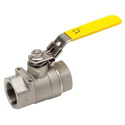 Yellow Hand Ball Valve