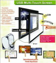 Multi IR Touch Screen