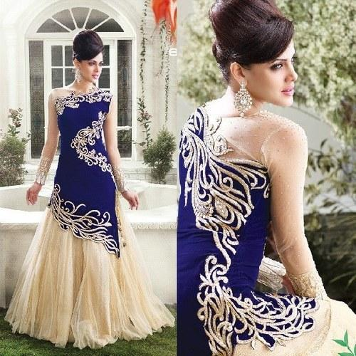 Wedding Wear Gown at Rs 1349 /piece | Wedding Gowns | ID: 11428907188