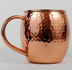 Copper Hammered Beer Mug