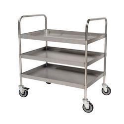 Stainless Steel Utility Trolley -2 tier/3 tier