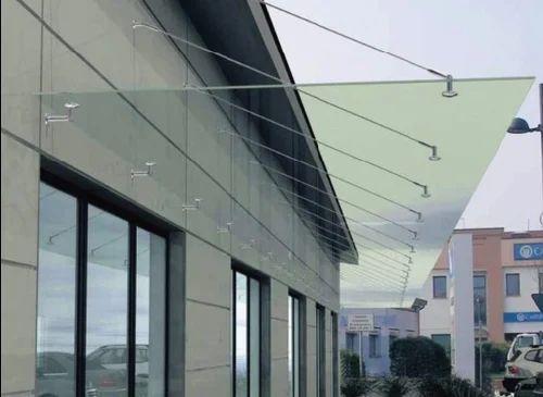 Glass Canopy ग्लास कैनोपी ग्लास कैनोपी S R Building