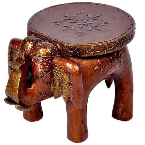 Enjoyable Painted Wooden Elephant Stool Onthecornerstone Fun Painted Chair Ideas Images Onthecornerstoneorg