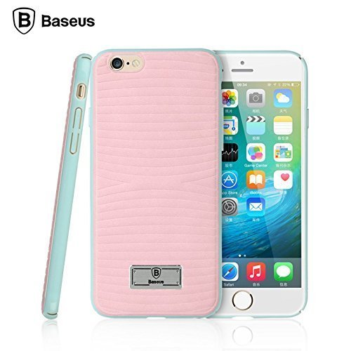 finest selection 4954d a5828 Baseus Back Cover Case For Apple Iphone 6s/6 Pink