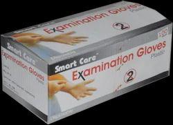 White Smart Care Polythene Gloves