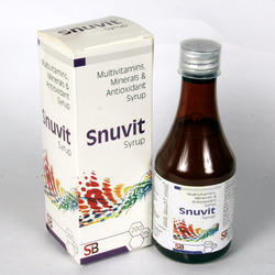 Multivitamins Minerals and Antioxidant Syrup