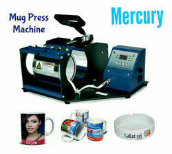 Semi-Automatic, Manual Single Mug Printing Machine