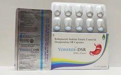 Yonireb-DSR Rabeprazole Sodium Enteric Coated and Domperidone SR Capsules