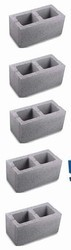 ACC 1 Hollow Block, For Partition Walls
