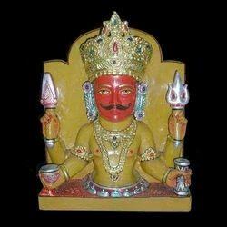 Nakoda Bhairavnath Marble Statue