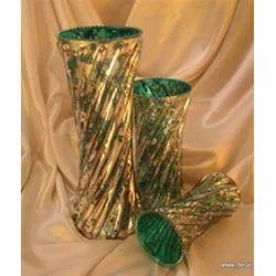 Antique Colored Flower Vase