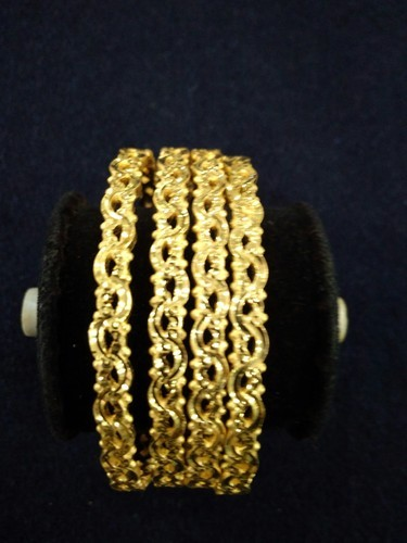 Gold Plated Bangles Cnc Rhodium 1 Gram Bangle Manufacturer From Mumbai