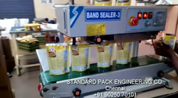 Mini Conveyor Vertical Band Sealing Machine - Vertical