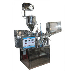 Plastic Tube Filling & Sealing Machine