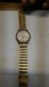 Golden Wrist Watch