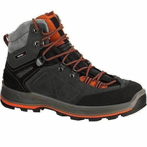 cc37618f41b6e Men Black Trekking Shoes, Size: 6.5, Rs 5999 /pair, Hansa Sports N ...