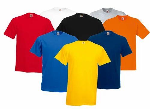 c9e7320abc1d Round Neck Cotton T Shirts Bio Washed