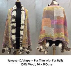Colored Jamawar Shawls