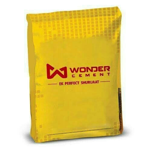 Wonder Non trade cement, Packing Size: 50 Kg