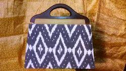 Ikkat And Kalamkari Designer Ikat Bag