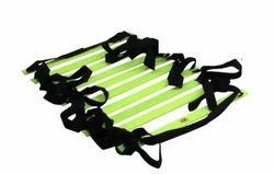 Green, Black Flat Ladder, For Training