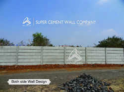 RCC Concrete Boundary Wall Compound