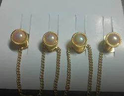 Icream brass Kurta Buttons Set, For Garments, Size/Dimension: Various