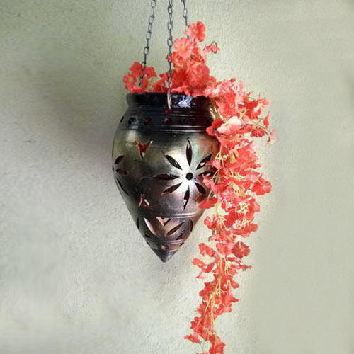 hanging terracotta flower vase at rs 120 onwards biswanathpur
