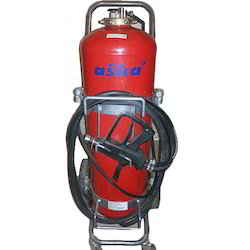 Low Pressure Trolley Mounted Water Mist Fire Extinguishers