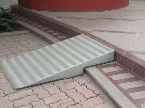 Step Ramp For Disabled People Step Ramp For Entrances