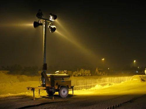 Mobile Lighting Towers & Mobile Lighting Towers Mobile Light Tower - R. K. Diesel Nagpur ...