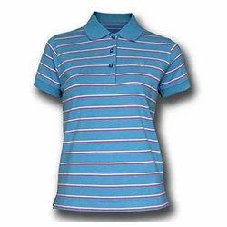 Ladies Striped T- Shirt