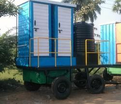 Blue & White Mobile Bio Toilets