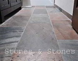 Slatestone For Flooring Copper Slate, Size: 300x600mm