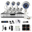 4 Camera 1 DVR Complete Set With Installation