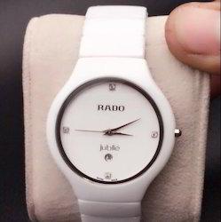 White Rado Jubilee Watch For Man