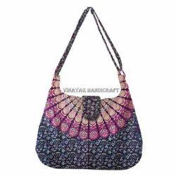 Mandala Hand Bag Girls Tote Bag