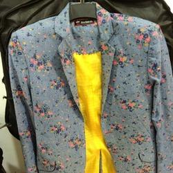 Ladies Printed Blazer