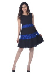 Sleeveless Ladies Short Dress