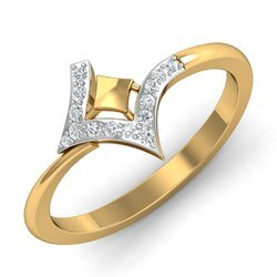 14k Hallmark Golden Diamonds Ring
