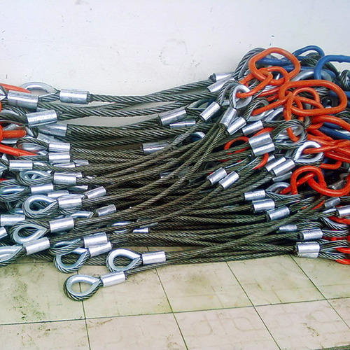 All Types Of Slings Wire Rope Slings Mechanical