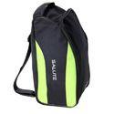 Black and Green Salute Shoe Bag