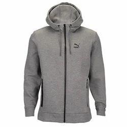 mens white puma hoodie