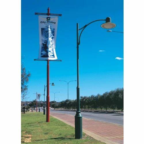 Decorative Light Poles decorative street light poles at rs 2800 /piece | cast iron