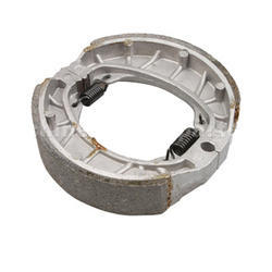 Friction Material Rear Motorcycle Brake Shoes, Packaging Type: Box