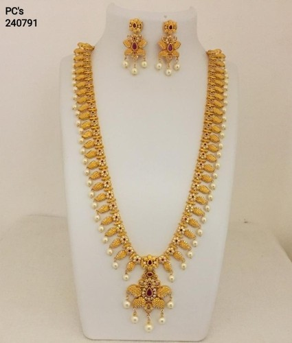 eb894d0ac7 Sri Venkat Sai Traders, Hyderabad - Retailer of one gram gold long chain  and One Gram Gold necklace set