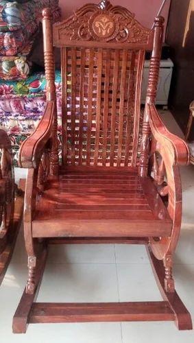 Khadi Gramodyog Bhavan Wholesaler Of Wooden Rocking Chair Cotton
