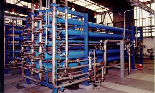 Semi-Automatic Stainless Steel Drinking Water RO Plant, 1000-2000, Domestic RO Plant